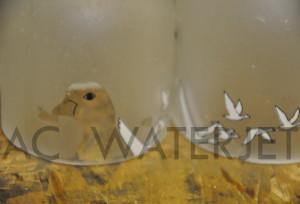 vodca bottle-waterjet cut 8