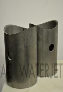 Pipe Stainless Steel Waterjet Cut 4.500 inch OD 2