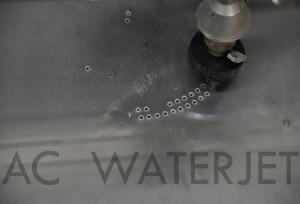 Speaker panel 0.125 inch aluminum-waterjet cut 2