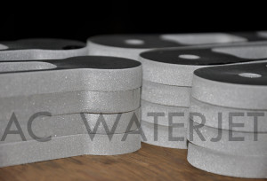 ALUMINUM 6061 - 0.375 INCH WATERJET CUTTING 3