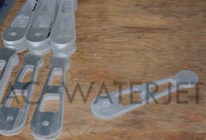 ALUMINUM 6061 - 0.375 INCH WATERJET CUTTING 5