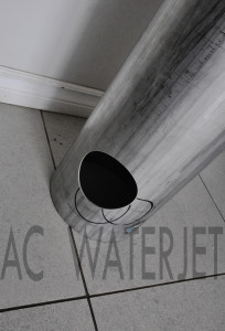 STAINLESS STEEL PIPE WATERJET CUTTING 3