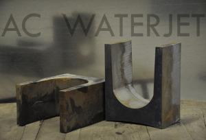 MILD STEEL 4.5 INCH WATERJET CUTTING-2