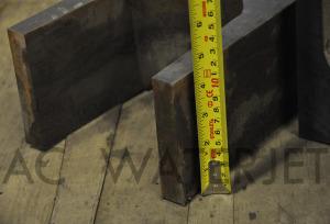 MILD STEEL 4.5 INCH WATERJET CUTTING-3